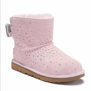 Authentic UGG star-girl Classic Mini 2 bow boots